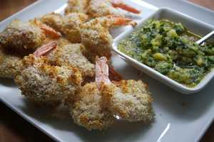 Coconut shrimp at Joey's Seafood