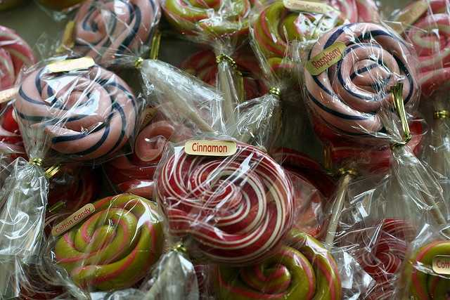 Lollypops at Lori's Sugar Shack