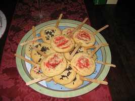 Sciortino's cookies at Slim McGinn's Irish Pub and Slim McGinn's West