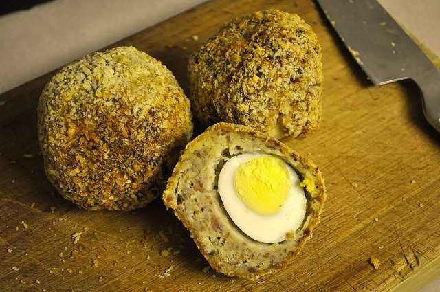 Scotch egg at Water Street Brewery