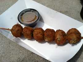 Deep fried stuffing at Rupena's