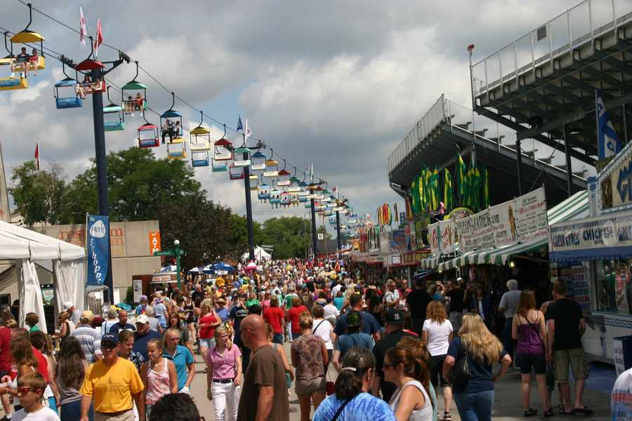 The Wisconsin State Fair runs August 2-12, 2012