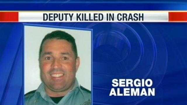 Fellow officers emotionally hit hard by Deputy Aleman's death.