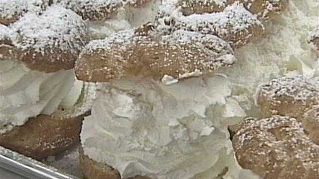 12 News Portia Young takes a behind the scenes look at how the cream puff is made at Wisconsin State Fair.