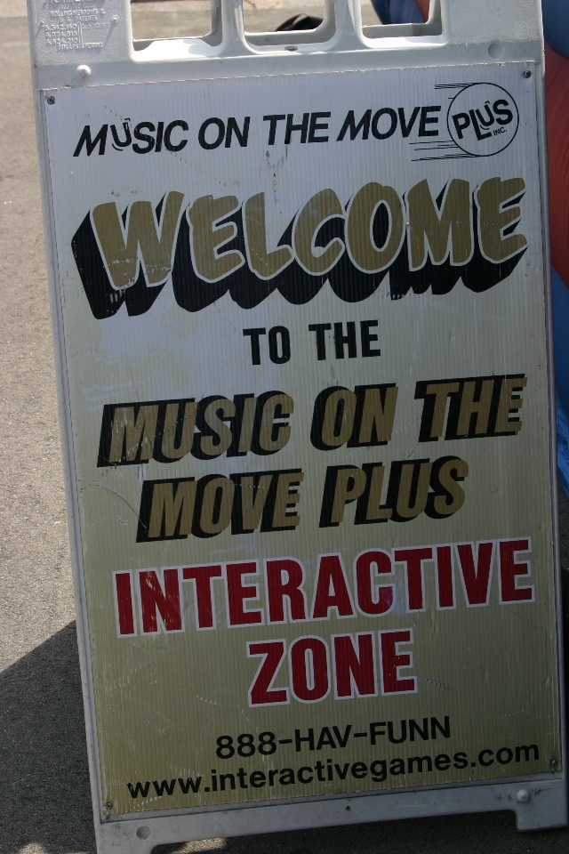 The Interactive Zone is brought to you by Music On The Move Plus.