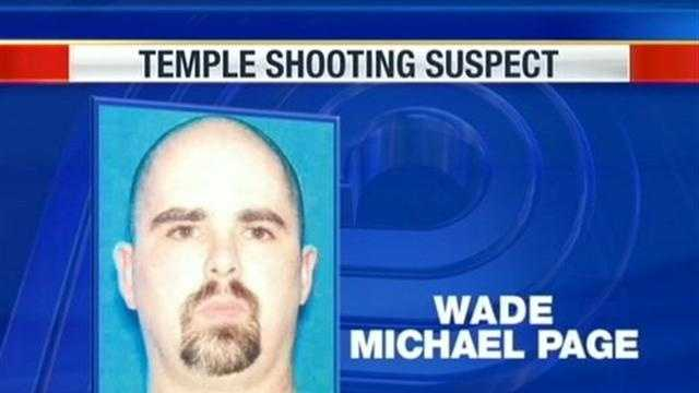 The man suspected of shooting and killing six people at a Sikh temple in Wisconsin on Sunday is former Army soldier Wade Michael Page, 40, law enforcement officials say.