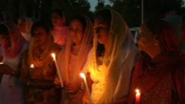 Vigil for shooting victims