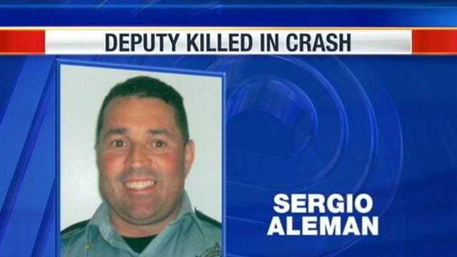 Milwaukee County Sheriff's Deputy Sergio Aleman will be laid to rest this morning, after he was killed in a crash on I-43 one week ago.