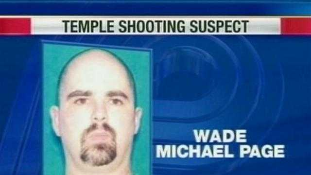 Neighbors say police again visited Wade Michael Page's ex-girlfriend again Tuesday night.