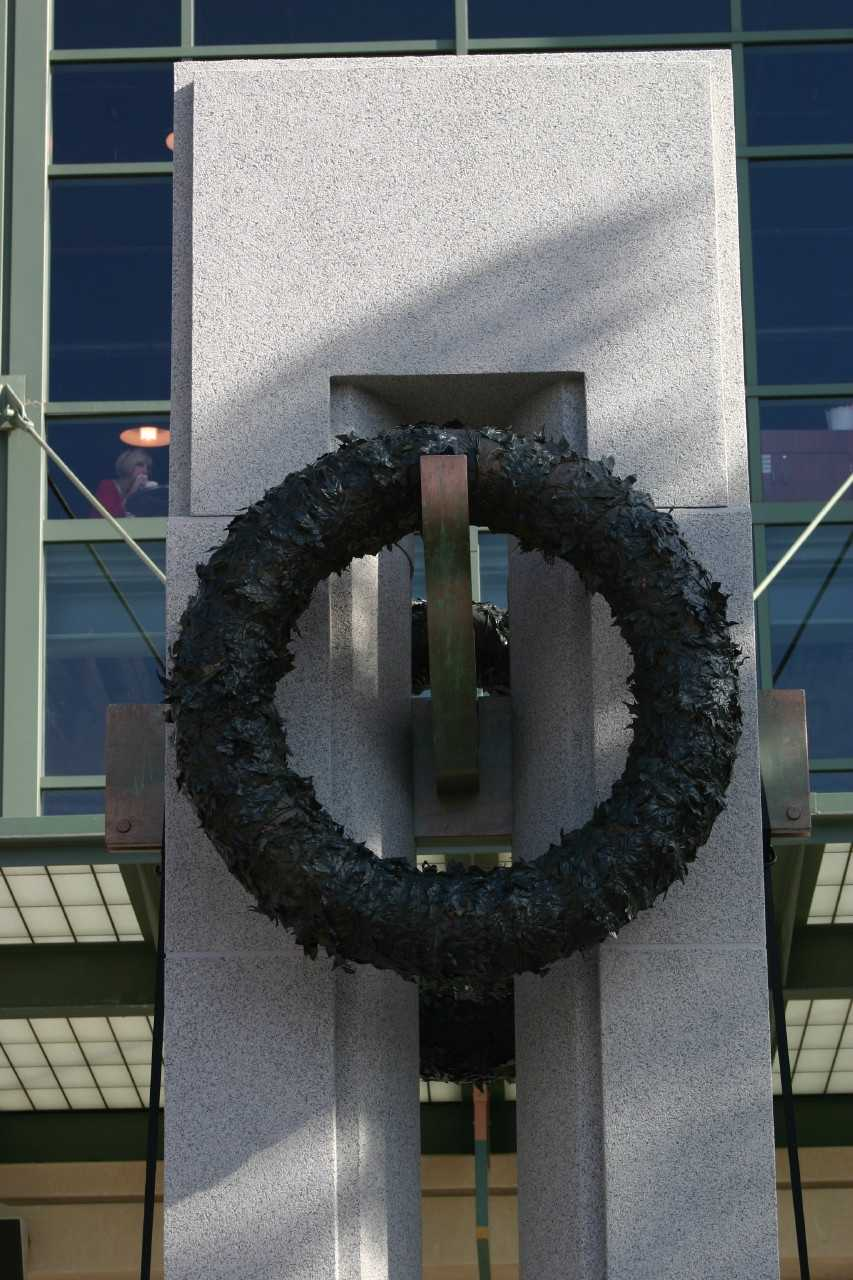 The replica pillar was constructed by Wall-tech, Inc.