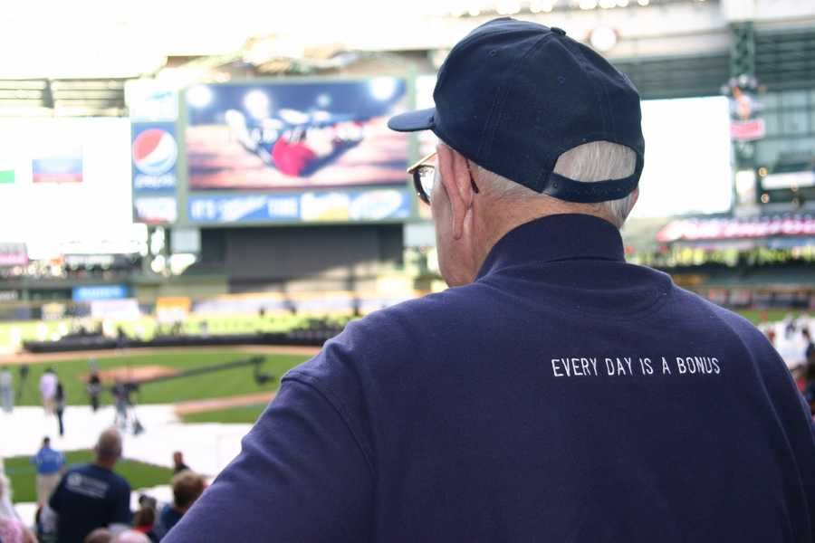 """""""Every day is a bonus"""" is the Honor Flight motto."""