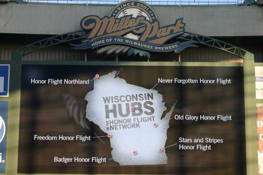There are five other Honor Flight hubs in Wisconsin in addition to Stars and Stripes Honor Flight in the southeastern part of the state.