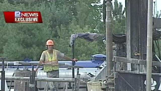 Work Continues on Jackson Gasoline Spill Clean Up