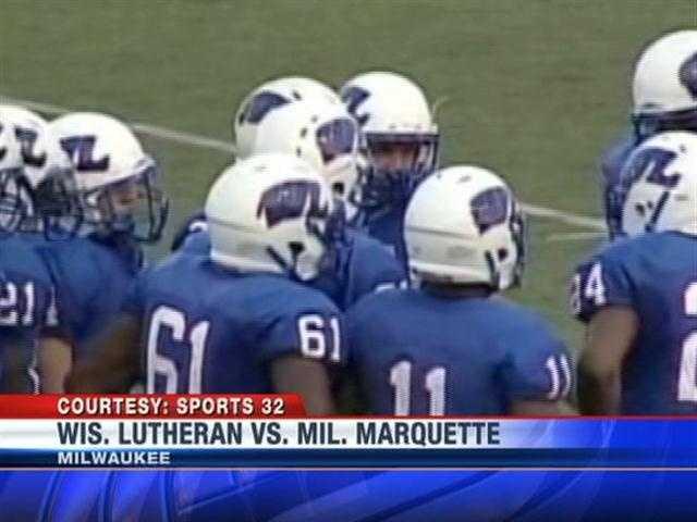 Wisconsin Lutheran took on Milwaukee Marquette.