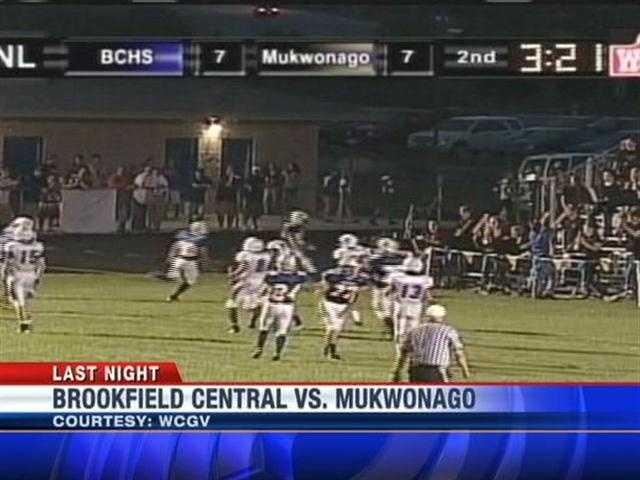 Brookfield Central played Mukwonago Thursday night.