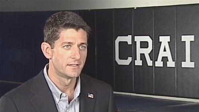 WISN 12 News sat down one-on-one with GOP vice presidential candidate Paul Ryan.