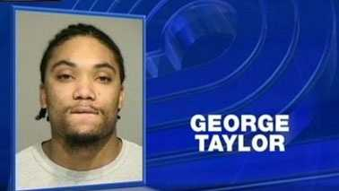 George Taylor mugshot