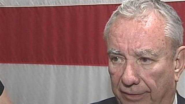 Republican U.S. Senate candidate Tommy Thompson says it was a mistake for an aide to send a message about Democratic opponent Tammy Baldwin dancing at a gay pride festival.