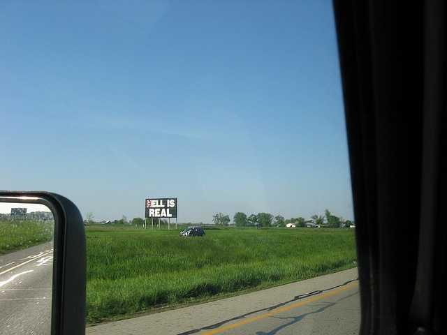 Or maybe Hells Corners, Ohio.