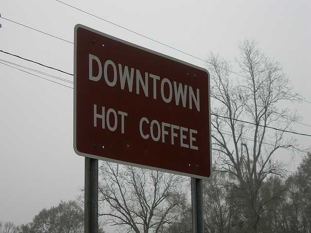 There's always something brewing in Hot Coffee, Mississippi.