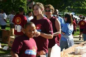 Volunteers make everything run smoothly.