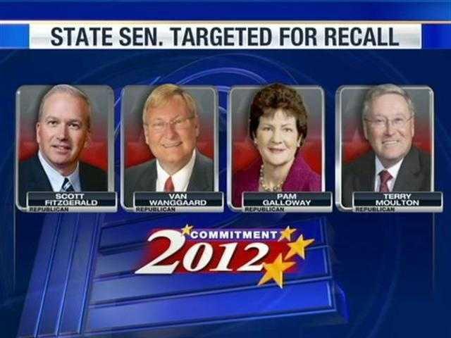 Gov. Walker, Lt. Gov. Kleefisch and four state Senators were targets of recalls.