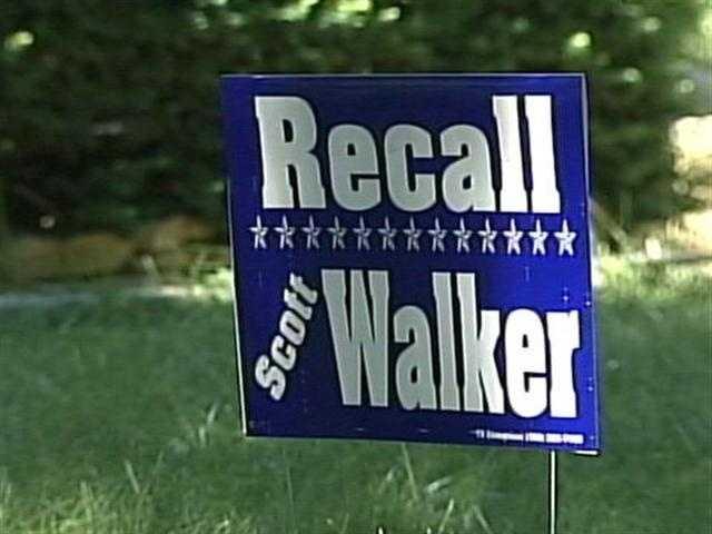 A recall effort against Gov. Walker and several state legislators began in earnest after the signing of the bill.