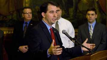 Feb. 14, 2011 - Gov. Walker introduces the measure in the legislature.