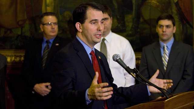 Feb. 14, 2011 - Gov. Walker introduces the measure in the legislature.