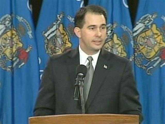 Jan. 3, 2011 - Scott Walker sworn in as the 45th governor of Wisconsin.