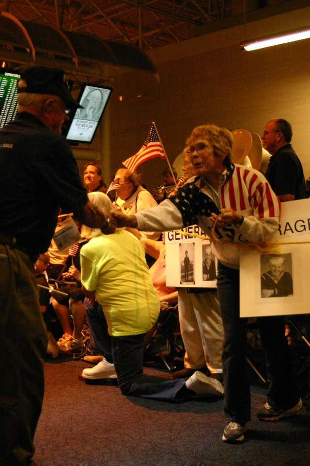 Honor Flight is a national program with 117 hubs across the country.