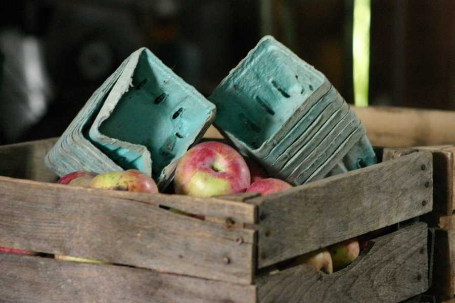 The orchard usually supplies apples to local farmers markets but can not fulfill as many requests as usual due to the small crop.