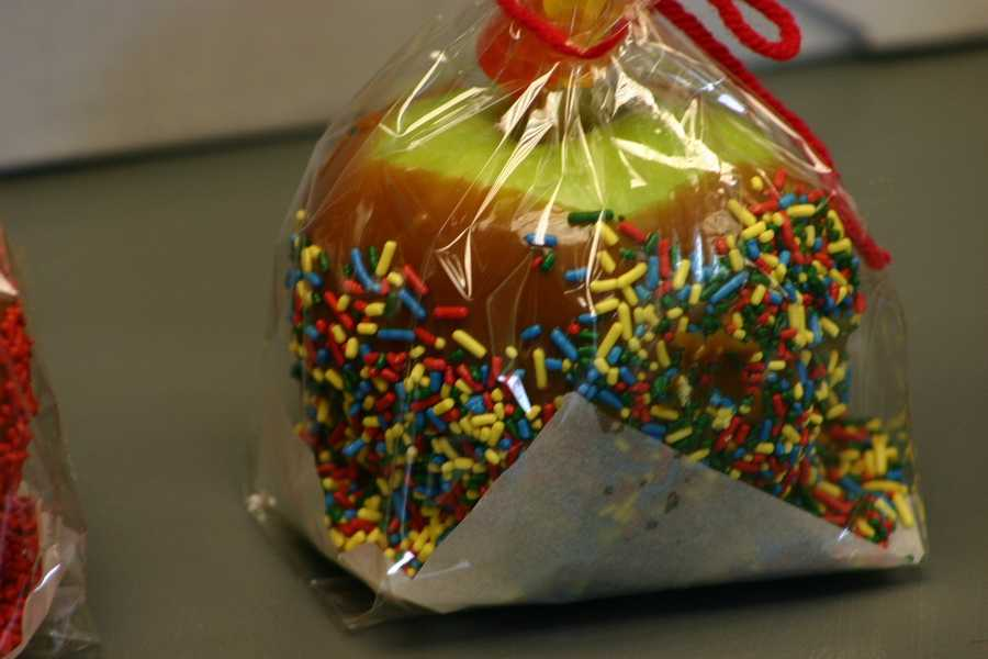 Other apple treats including pies, crisps and caramel apples will be available.