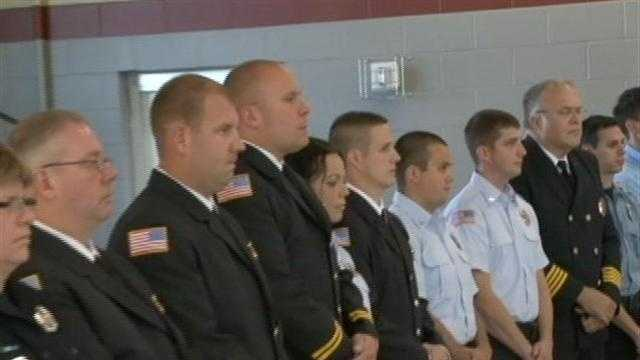 Firefighters honored for heroism