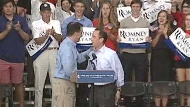 Gov. Scott Walker wants Republican presidential candidate Mitt Romney to get fired up.