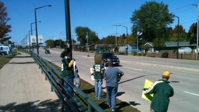 Green Bay protesters