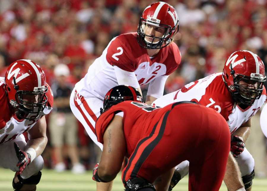 Joel Stave ran for -33 yards in the game.