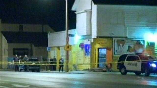 A man is dead after a shooting Monday night.