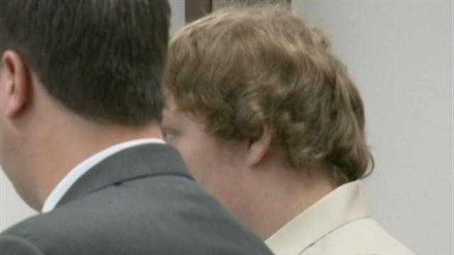 Nicholas Olson in court