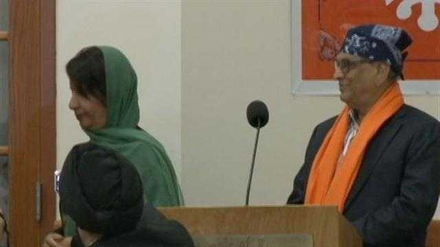 Several Indian Dignitaries conveyed their condolences to members of the Sikh Temple Thursday night.