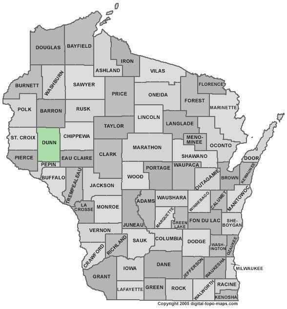 Dunn County: 4.3 percent, down from 6.4 percent in August