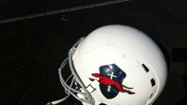 football helmet with cross2