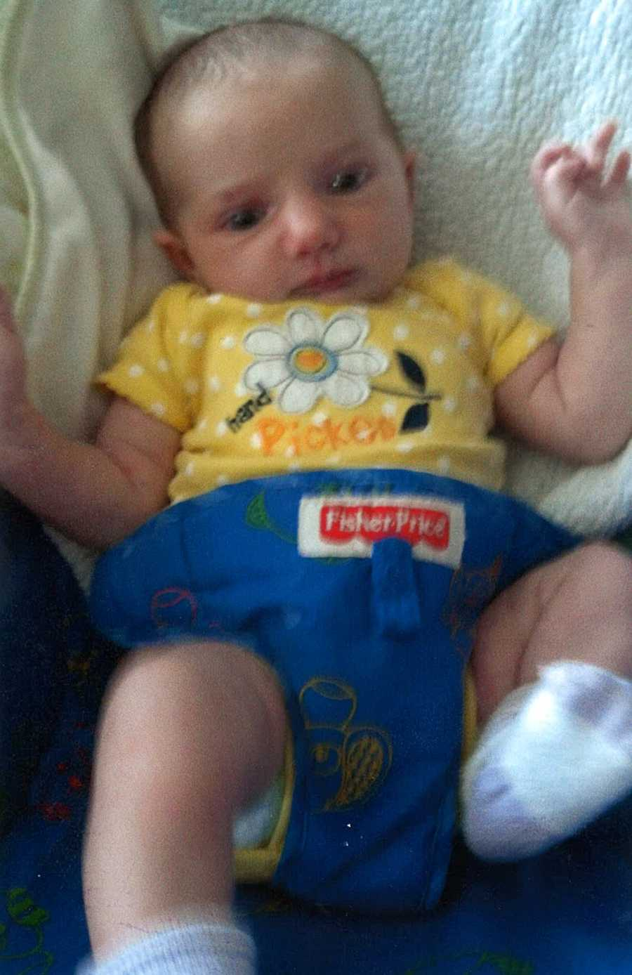 Marsek's two daughters are also missing. Macenzie is 4-months old with brown hair and brown eyes.