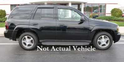 Aneta vehicle is described as a Chevrolet Trailblazer similar to the one pictured above. It is black with Illinois plates CZAJA28, and it may have rear bumper damage from a recent accident. Anyone with information is asked to call the Lake County Sheriff at 847-377-4250.