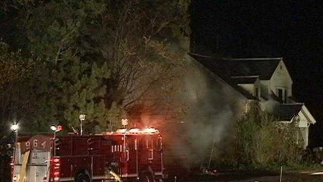Four residents of a Mequon home were taken to the hospital for evaluation after their house caught fire late Thursday night.