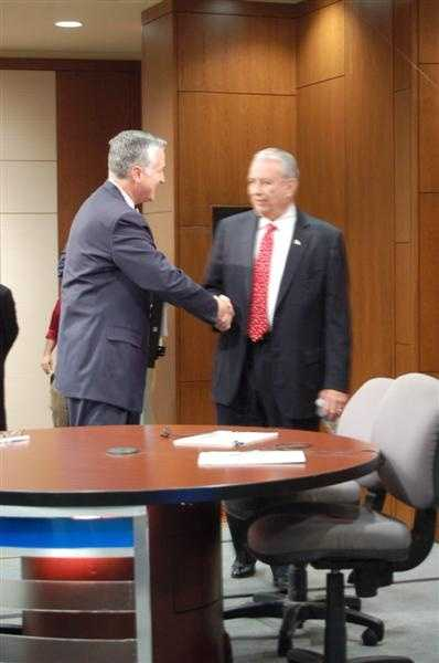 As well as former Gov. Tommy Thompson.