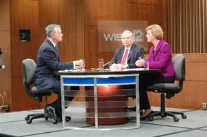 The 60 minute debate was broadcast statewide on UPFRONT affiliate stations, as well as nationally on C-SPAN.