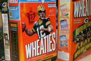 Some of ever popular Wheaties boxes are part of the auction
