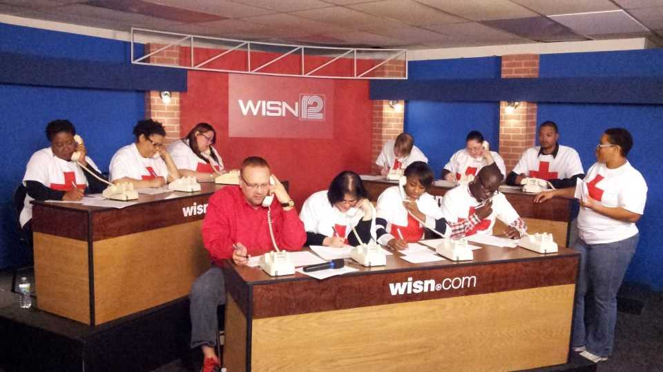 WISN 12 and the American Red Cross are hosting a phone bank to raise funds for the relief efforts along the east coast.  Call 414-799-9476 to donate towards the Hurricane Sandy relief fund.
