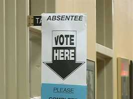 No. 9: Absentee ballots must be postmarked by Election Day